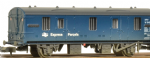 374-642 Graham Farish BR MK 1 CCT Blue Express Parcels Weathered